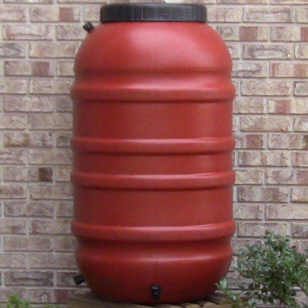 Upcycleproducts 55 Gallon Rain Barrel Reviews Wayfair