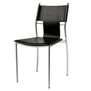 Armless Stacking Chair with Cushion (Set of 2) by Porthos Home