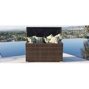 All Weather Crosson Wicker Deck Box