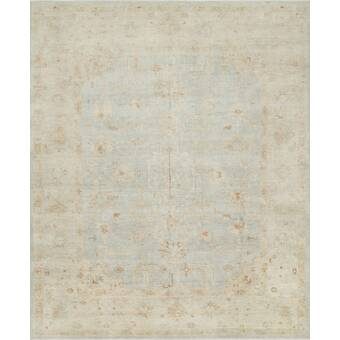 Loloi Rugs Abelard Oriental Hand Knotted Wool Stone Area Rug Reviews Wayfair