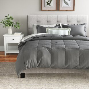 Powhattan Microfiber Reversible Comforter Set