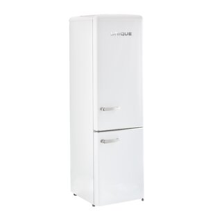 Mount Solar 10 cu. ft. Counter Depth Bottom Freezer Refrigerator by Unique
