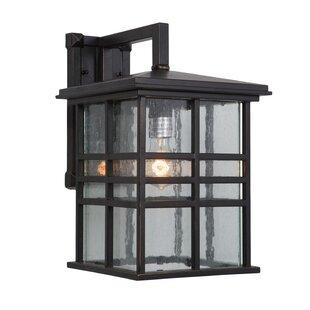 Red Barrel Studio Woodridge Exterior Incandescent 1-Light Outdoor Wall Lantern