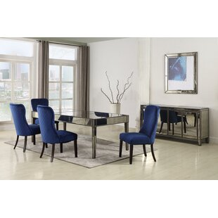 Thorp 5 Piece Solid Wood Dining Set Rosdorf Park