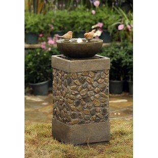 Jeco Inc. Resin/Fiberglass Bird Fountain