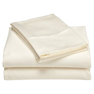Three Posts Moravia 300 Thread Count 100% Cotton Sheet Set