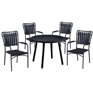 Highland Dunes Greenhills 5 Piece Dining Set