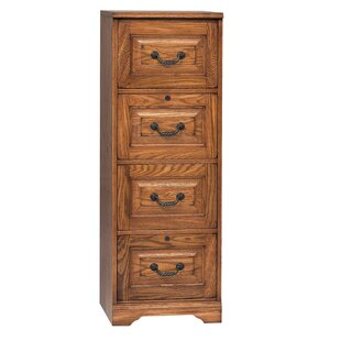 Darby Home Co Southview 4-Drawer File Cabinet