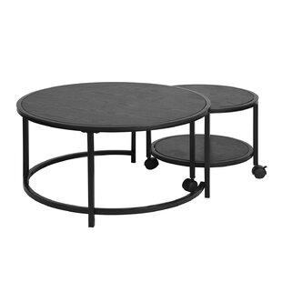 Set Of 2 Coffee Tables Wayfair Co Uk