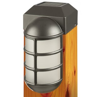 Paradise Garden Lighting 1-Light Fence Post Cap