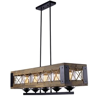 LNC Home 5-Light Kitchen Island Pendant