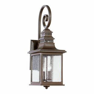 Alcott Hill Brittany 2-Light Outdoor Wall Lantern