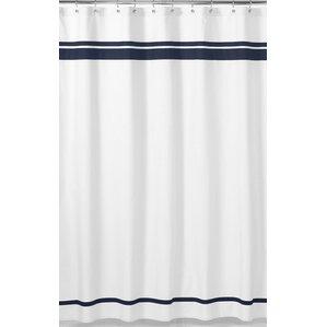 hotel cotton shower curtain