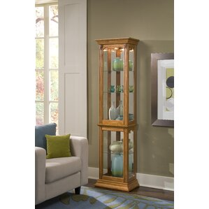 Maywood Lighted Curio Cabinet by Charlton..