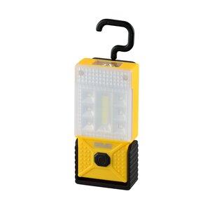 Pinckard Yellow Battery Powered LED Outdoor Work Light By Sol 72 Outdoor