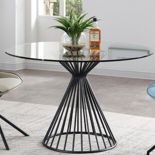 Bottom Dining Table by Brayden Studio No Copoun