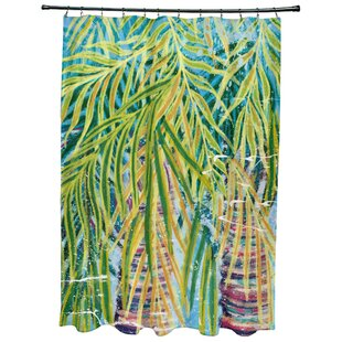 Sanchezia Floral Print Single Shower Curtain