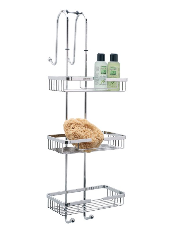 Nicol Nero Metal Hanging Shower Caddy & Reviews | Wayfair.co.uk