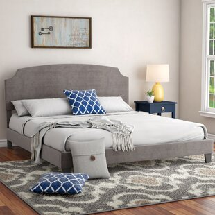 Surrey King Upholstered Panel Bed
