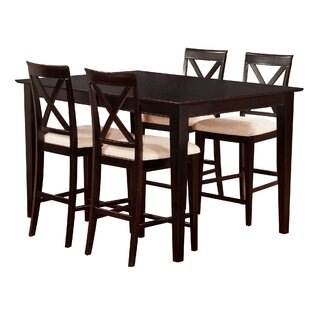Up To 60% Off On Crestwood 5 Piece Counter Height Dining Set ByAndover  Mills   Counter Height Dining Sets Furniture In A Multitude Of Designs.