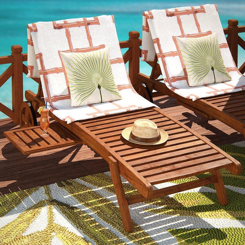 Beachcrest Home Joaquin Balau Wood