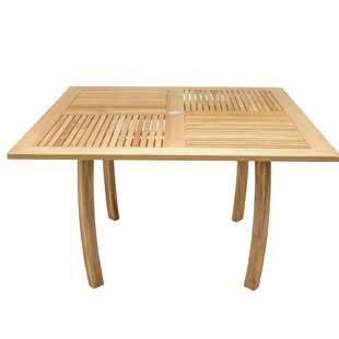 LaGuardia Teak Dining Table