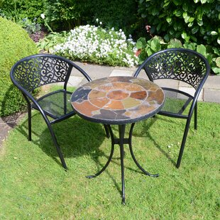 Moravian 2 Seater Bistro Set By Sol 72 Outdoor