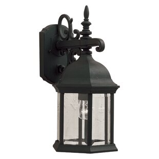 Reviews 8 One Light Outdoor Lantern with Clear Glass By Forte Lighting
