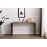 Murawski 59.25 Solid Wood Console Table by Union Rustic