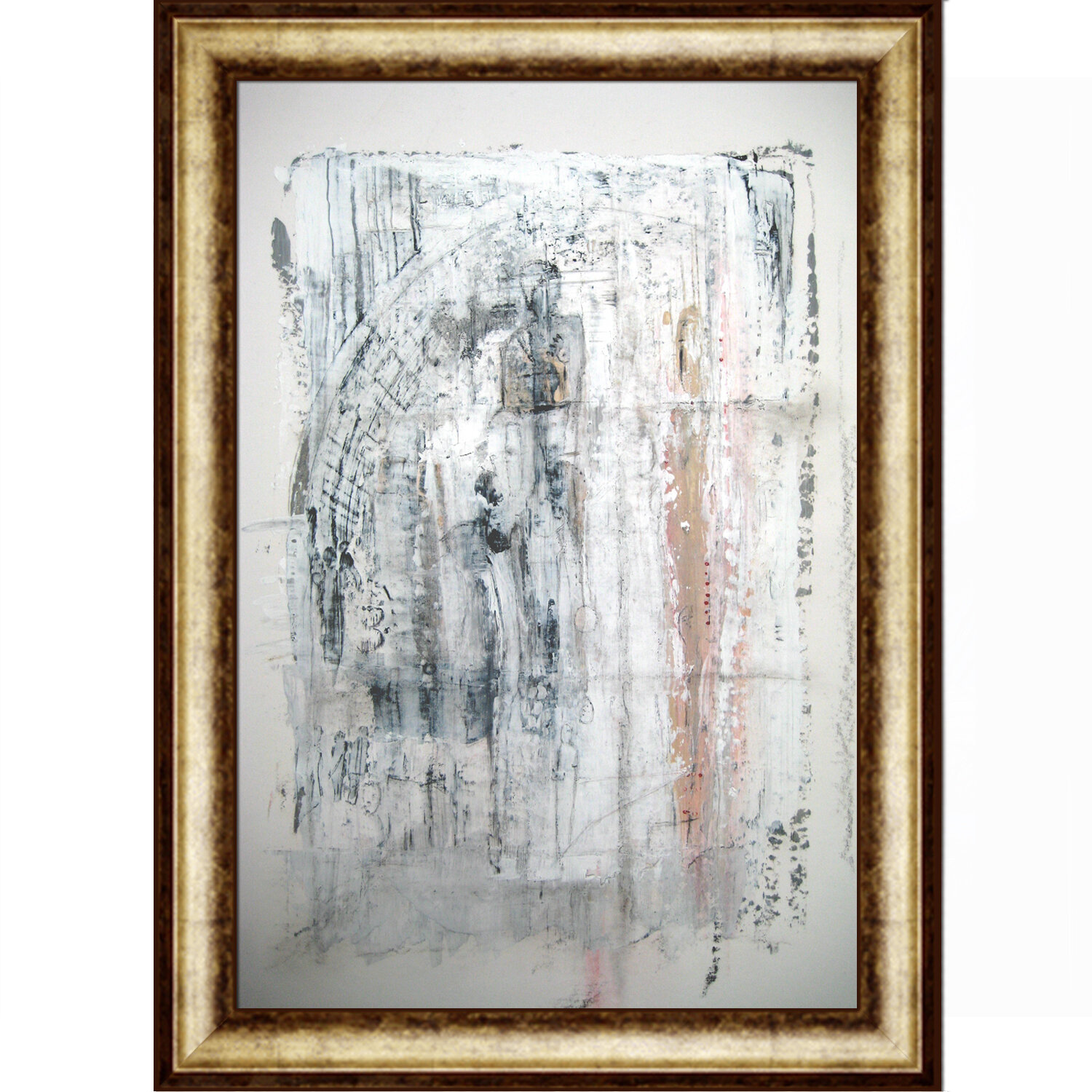 Tori Home Artisbe State Of Oblivion By Elwira Pioro Framed Painting On Canvas Wayfair