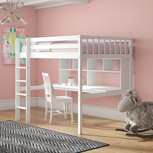 Booth European Single High Sleeper Bed By Harriet Bee