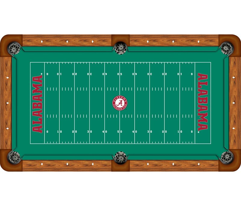 Wave 7 NCAA Football Field Recreational Billiard Table Felt | Wayfair
