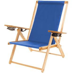 Reclining Beach Chair by Blue Ridge Chair Works