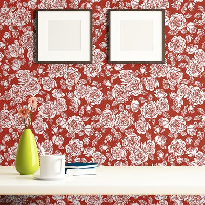 Keiser Removable Peel and Stick Wallpaper Panel Red Barrel Studio