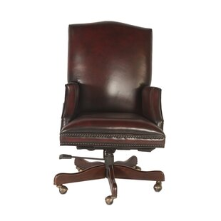 Miner Genuine Leather Executive Chair by Canora Grey