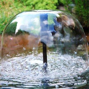 Wasserwerk Solar Pond Fountain With Light By Blumfeldt