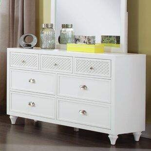 My Home Furnishings Amanda 7 Drawer Dresser