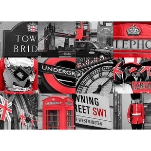 London Montage Wall Art