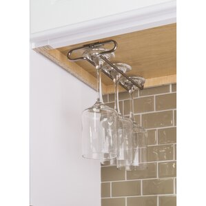 Under Cabinet Hanging Wine Glass Rack by ..