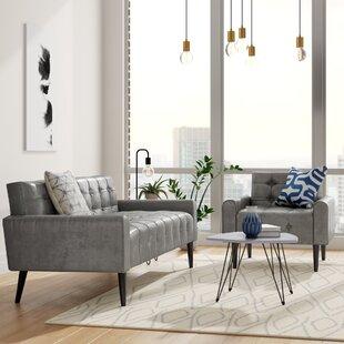Perry 2 Piece Living Room Set by Zipcode Design
