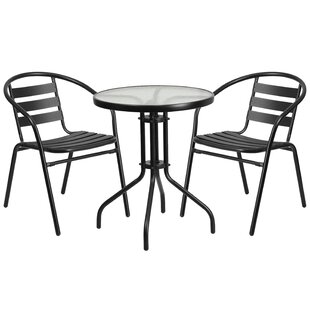Breakwater Bay Ridley 3 Piece Bistro Set
