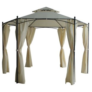 Montcalm 3.5 X 3.5m Metal Pop-Up Party Tent By Sol 72 Outdoor
