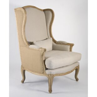 Zentique Leon Wingback Chair