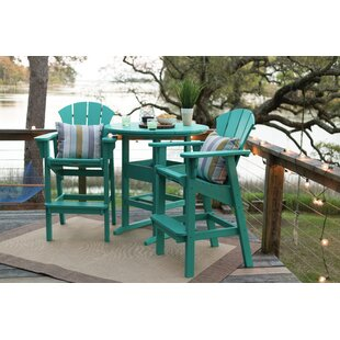 Yeager 3 Piece Dining Set