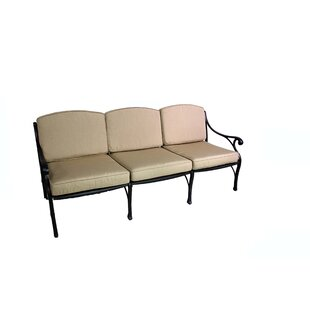 La Jolla Deep Seating Sofa with Cushion by California Outdoor Designs