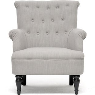 Baxton Studio Crenshaw Tufted Armchair by Wholesale Interiors