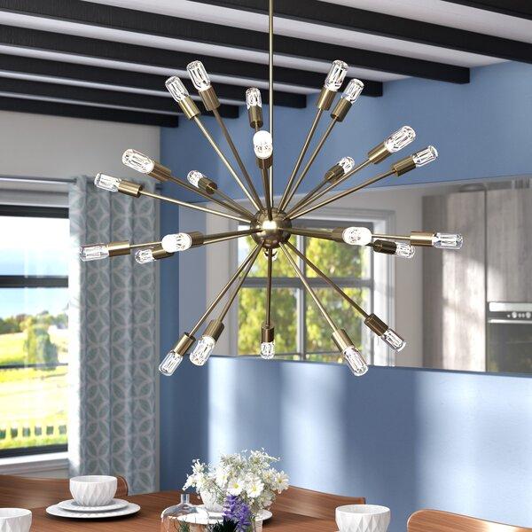 Langley Street Kendall 24 Light Sputnik Chandelier Reviews