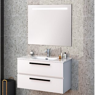 Reavis Bathroom 700mm Wall Hung Single Vanity Unit By Brayden Studio