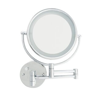 Price Check LED Wall Mount Makeup/Shaving Mirror ByDanielle Creations