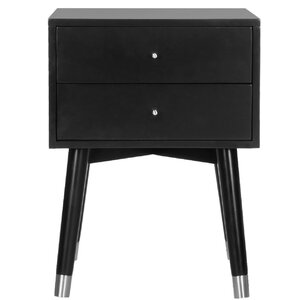 Modern Black Nightstands